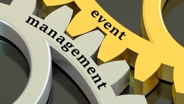 Digital signage software for event management