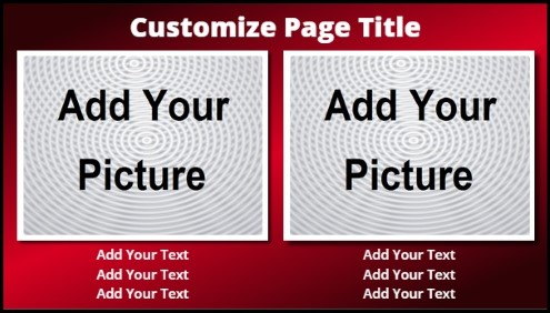 Template For Product Service With Animated Background - Digital signage templates
